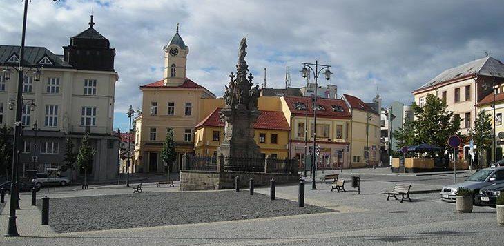 Город Кладно Чехия