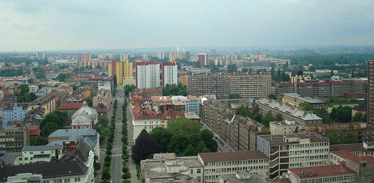 Город Острава, Чехия