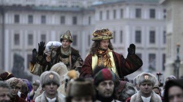 Шествие королей в Чехии