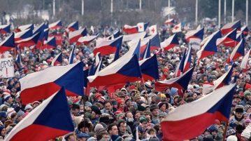 Бархатная революция в Чехословакии