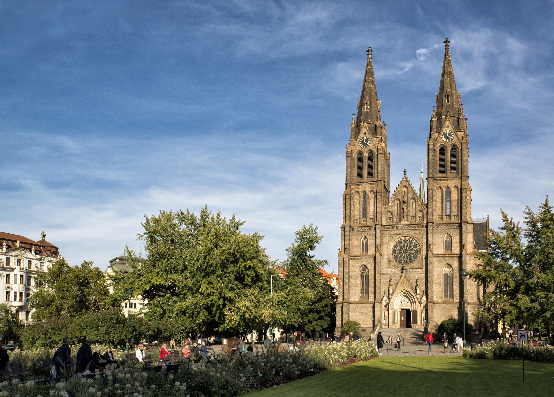 Храм Святой Людмилы в Праге