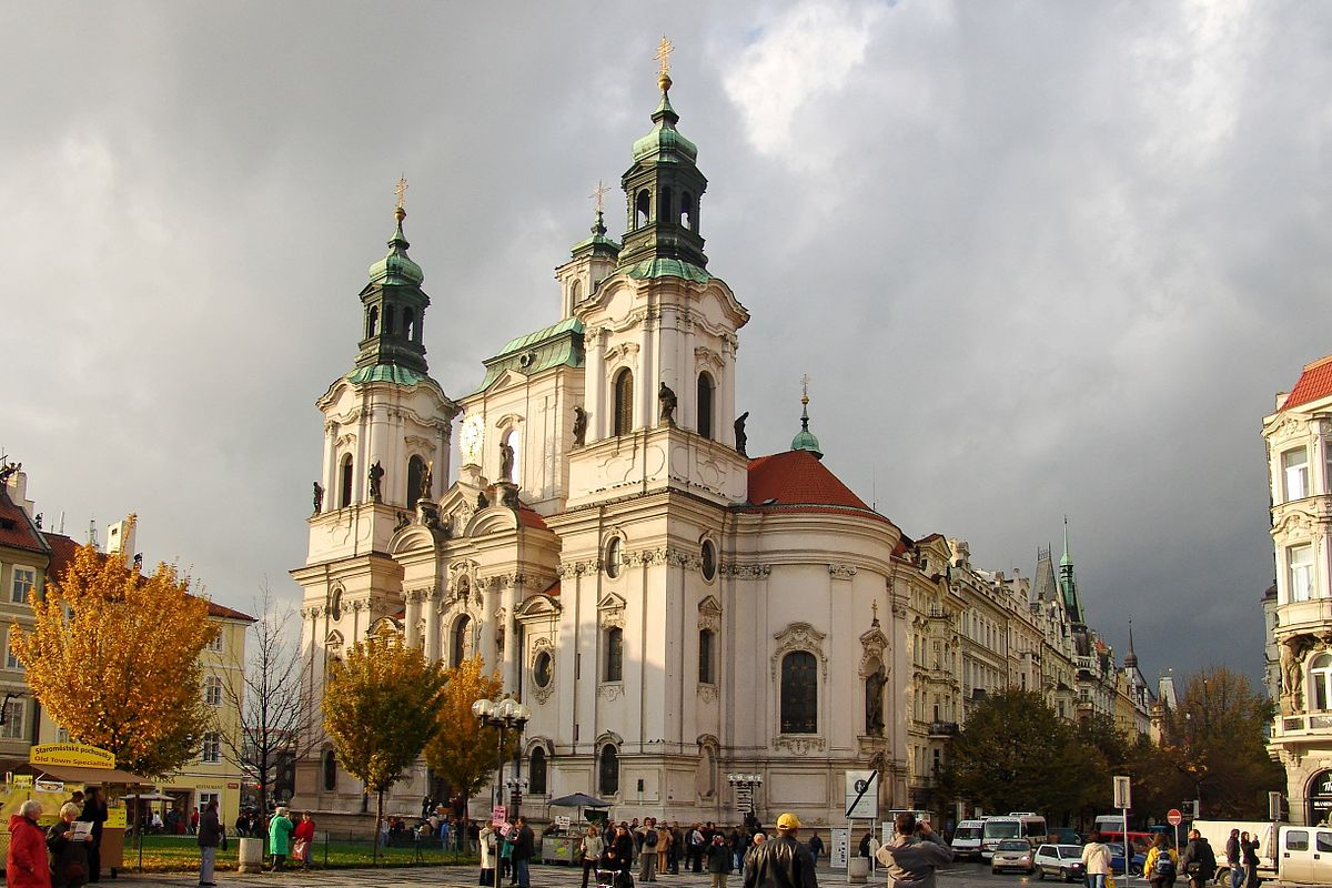 Собор Святого Николая в Праге