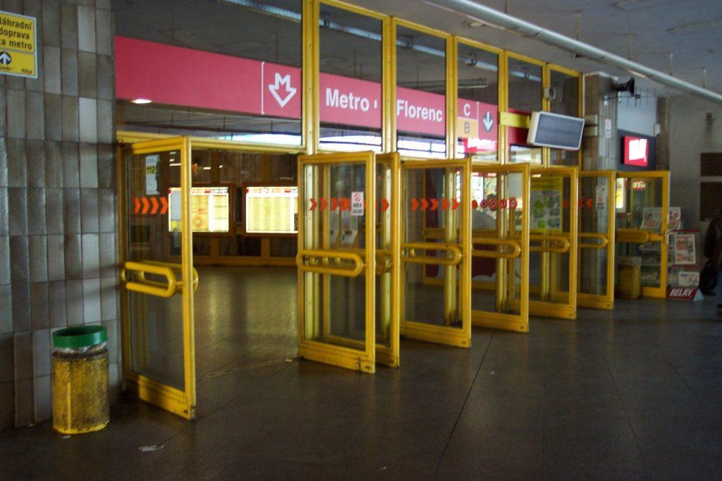 метро в Праге