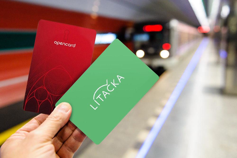 Карточки opencard для проезда в метро в Праге