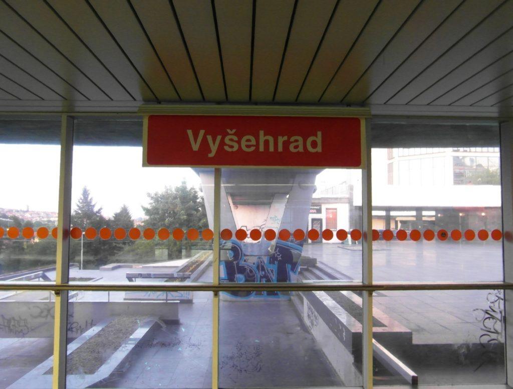 метро в Праге станция Vyšehrad