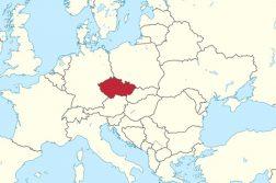Где находится Чехия на карте мира