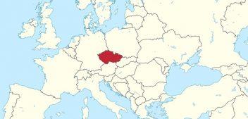 Где находится Чехия на карте мира?