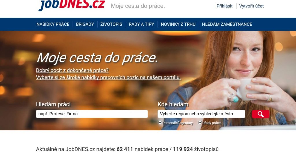 поиск работы в Чехии